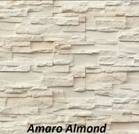 SAMPLE - Stacked Stone Panels, Split Face Stone Panels, Stone Feature Wall