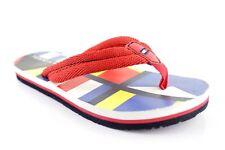 Tommy Hilfiger Kinder Zehentrenner Strandschuhe Rot Badeschuhe Sandalen Gr. 31