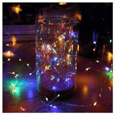 MultiColor 5M Copper Wire 50 Led String Fairy Light Xmas Tree Bedroom Decor IP65