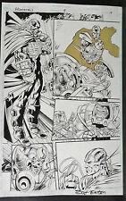 LEONARD NIMOY'S PRIMORTALS ISSUE #8 PAGE 19 1995 ORIGINAL COMIC ART-SCOT EATON