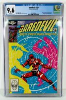 DAREDEVIL #178 CGC 9.6 NM+ White Pages Frank MILLER Story Cover and Art Elektra