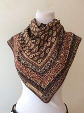 Christian Dior scarf foulard seta Vintage