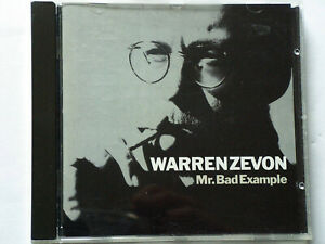 WARREN ZEVON: MR. BAD EXAMPLE - CD -