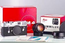 Leica Leitz Wetzlar M4 Classic + 1.4/50 50mm Summilux 2st Premium Set IN Box