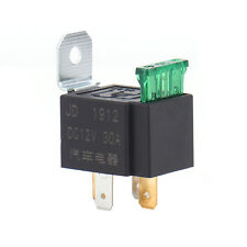 4-Pin 30A Relays Automatic With Fuse Relay 12V DC Coil Voltage Car Truck Boat