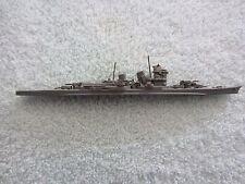 "VTG Metal Miniature Ship~NACHI CLASS JAP CL~Cruiser~COMET~6 1/2"" L~Toy~WWII~3.9z"
