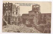reims dans les ruines, église et impasse saint-jacques