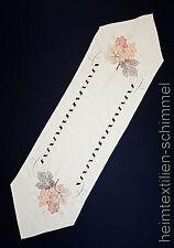 STICKEREI Tischdecke SOMMER Tischläufer WEIN Tischdeckchen Tischband Deko 40x140