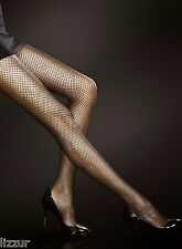 Greta fishnet tights 20 den Fiore net pantyhose - BLACK, WHITE, SAFARI