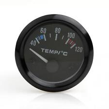 2Inch 52mm Car Pointer Water Temperature Temp Gauge 40 - 120 Celsius White LED