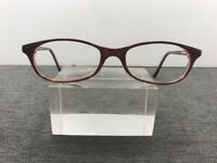 Authentic Cynthia Rowley Eyeglasses CR BRN 49-17 140 Brown L19