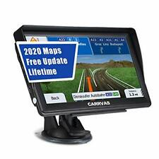 CARRVAS 7 Inch GPS Navigation for Car and Truck 2020 Version Americas Map & Voic