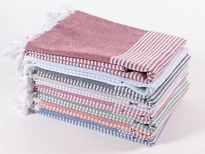HORIZON Turkish Towel Peshtemal Bath SPA Beach Hammam 100% Cotton