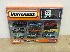 2010 Matchbox Collector Pack 10 Pack Set W Exclusive White Euro Truck NIP Wear!