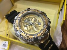 21366 Invicta Thunderbolt Men 54mm Swiss Quartz Chronograph Silicone Strap Watch