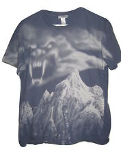 Space Mountain Disney Ride Monster Cloud T Shirt Gray mens size L Large