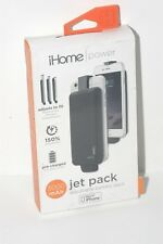 iHOME POWER JET PACK ADJUSTABLE 3000 mAh BATTERY PACK FOR iPHONE