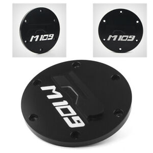 Engine Derby Side Cover Cap Motor Fit for Suzuki Boulevard M109R 2006-2018 Black