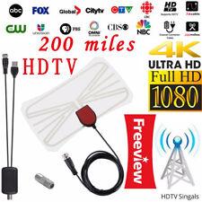 200 Mile Range Antenna TV Digital HD Skywire 4K Antena Digital Indoor HDTV 1080p