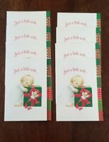 Child Present Angel Ruth Bill Morehead Collection Christmas Cards 8 NEW Current