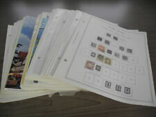 Germany & Area, Excellent Stamp Collection hinged on loose Minkus pages