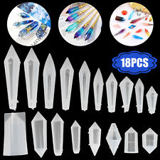 Resin Crystal Casting Silicone Mold Epoxy Pendant Jewelry Craft DIY Making Tool