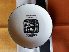Vintage HYATT REGENCY TORONTO CANADA TRUFFLES RESTAURANT DISH ASHTRAY TEA COZY
