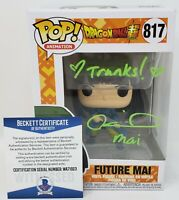 Colleen Clinkenbeard signed Funko Pop Future Mai Dragon Ball  Super Beckett