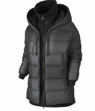 NWT WOMENS NIKE UPTOWN 550 DOWN COCOON JACKET 683928 010 BLACK FREE SHIPPING!!