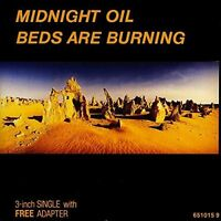 Midnight Oil Beds are burning (1988, cardsleeve) [Maxi-CD]