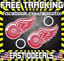 Detroit Red Wings Cornhole Decal sticker 4 pc Set package deal!