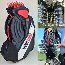 NEVR LOOZ Pro Staff Golf Bag, Secure, manage and protect your clubs now!