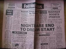 01/09/1979 Eastern Football Newspaper (Main Report Listed): No. 1974 - Coventry