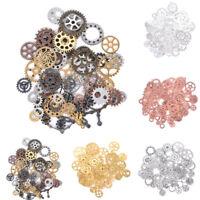 40Pcs//Set Mixed Vintage Owl Charms Alloy Pendants DIY Handmade Jewelry Findi bf