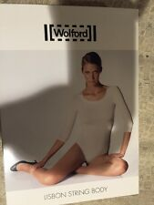 New WOLFORD Lisbon Seamless STRING BODY Color: Tabasco size: MEDIUM 75005 $240