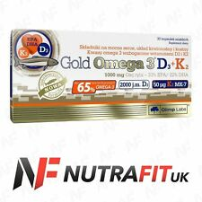 OLIMP GOLD OMEGA 3 vitamin D3 K2 heart bones blood circular support fish oil