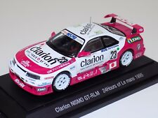 1/43 Ebbro Nissan Clarion Nismo GT-R LM 1995 car #23 24 Hours of LeMans  #358