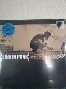 Meteora by Linkin Park (Record Store Day Aqua Blue Colored Vinyl, Warner, 2021)