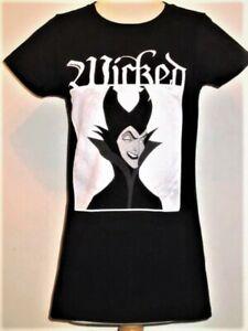 Girls soft Wicked MALEFICENT Disney Villains 2-Sd T-shirt