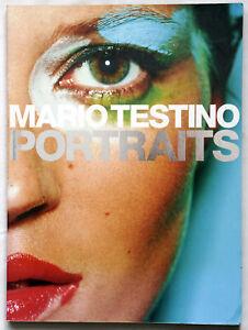 Mario Testino Portraits SB Large Soft Cover Photo book Madonna Kate Moss Diana
