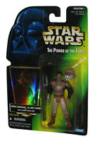Star Wars Power of The Force Lando Calrissian Skiff Guard Green Card Figure