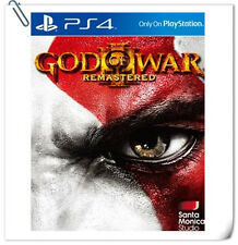 PS4 God of War GOW 3 III Remastered ENG / 战神 中英文版 GOW SONY Games Action SCE