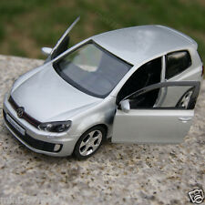 Volkswagen Golf GTI Alloy Diecast 1:36 Model Cars Toys Cars Gifts Silver New