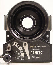 CAMERZ 105mm f 4.5 LENS AND SHUTTER (DYOTAR)