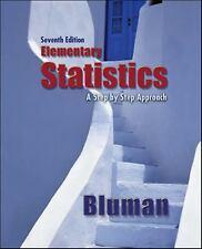 Elementary Statistics by Allan G. Bluman (2008, Hardcover)
