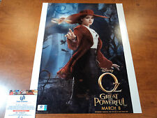 """OZ THE GREAT AND POWERFUL"" Mila Kunis - Signed 11x14 Photo - GAI GA GLOBAL COA"