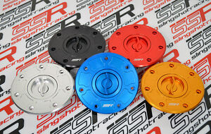 Kawasaki Billet Quick Turn Fuel Gas Cap ZX-6R (95, 97-99) ZX-7R (91-94, 96-03)