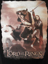 Lord of the Rings T SHIRT Return of the King size XL Viggo Mortensen Hobbit LOTR
