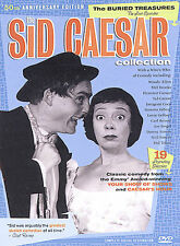 reduced! Sid Caesar Collctn Buried Treasures Box Set 2004 3-DVD-discs LiKE NEW