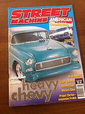 Street Machine Magazine August 2002 V8 Capri, 55 Chevy, 68 Impala, 67 Camaro,GMC